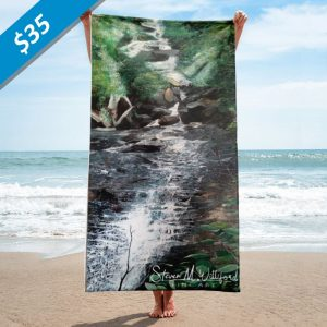 Waterfall-Beach-Towel-30x60-Price
