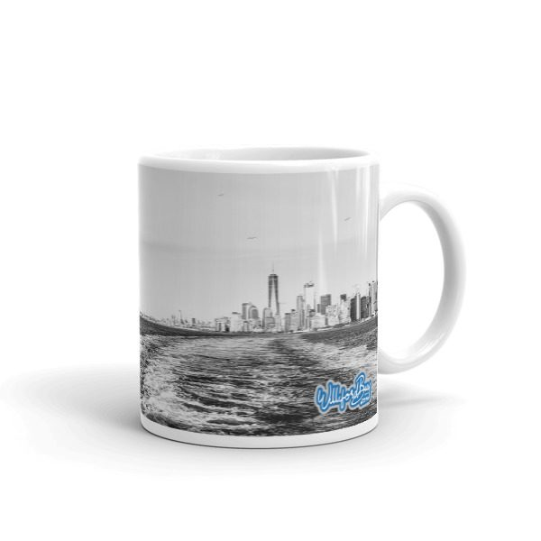 NYC mug small right handle