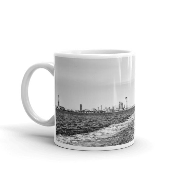 NYC mug small left handle
