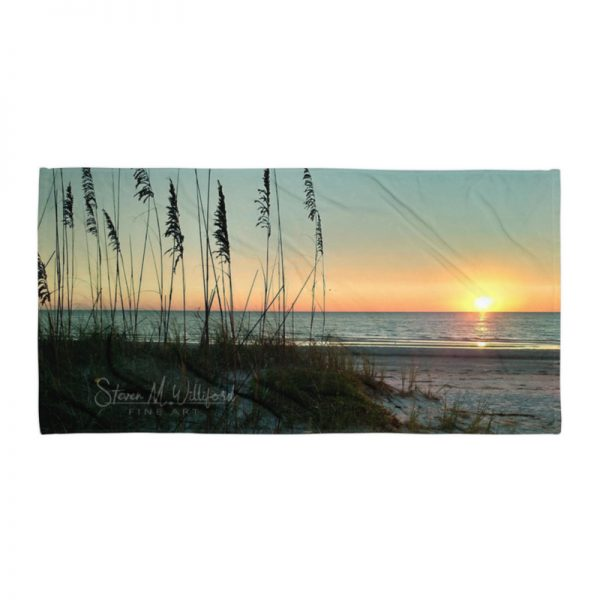 Beach Sunset mockup Flat30x60
