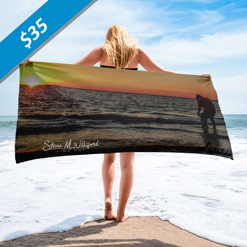 Sunset-walk-in-the-ocean-mockup_Beach-30x60--price