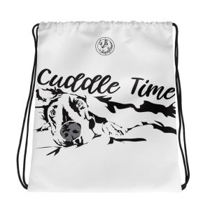 Cuddle Time drawstring bag
